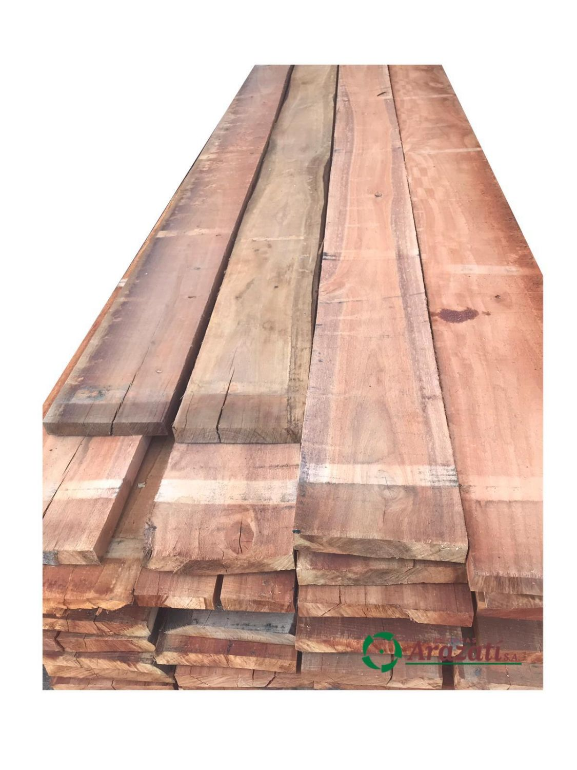 Tabla eucalyptus colorado 1,5x6 en 3,60m
